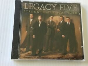 LEGACY-FIVE-Strong-In-The-Strength-1999-debut-1st-Album-CD-factory-SEALED-NEW