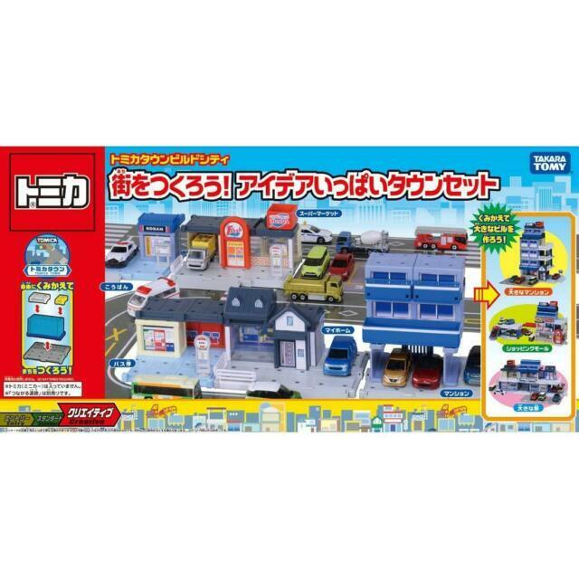 Tomy Tomica Fire Trucks /& Station Miniature  Re-ment Size Full Set Of 6