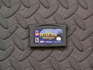 Nintendo Game Boy Advance GBA Game - Disney's Peter Pan: Return to Never Land