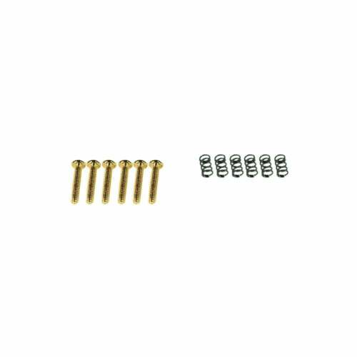 Kluson Intonation Screws And Springs Set 6 For USA Imperial Threaded Saddles