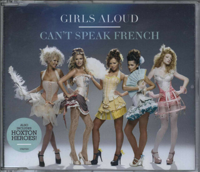 GIRLS ALOUD - CAN'T SPEAK FRENCH / HOXTON HEROES 2008 EU CD1 SINGLE CHERYL COLE