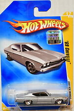 HOT WHEELS 2008 NEW MODELS '69 CHEVELLE #17/40 SILVER FACTORY SEALED
