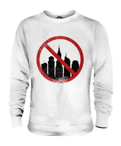 ACROPHOBIA (FEAR OF HEIGHTS) UNISEX SWEATER TOP GIFT PHOBIA SCARED