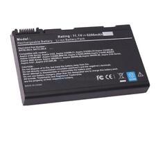 New 5200mah Battery for Acer TravelMate 2490 3900 4200 4230 4280 BATBl50l6 Black