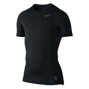 NEW-Nike-Dri-Fit-Pro-Cool-Compression-Black-Athletic-Men-039-s-Shirt-Size-M-Medium