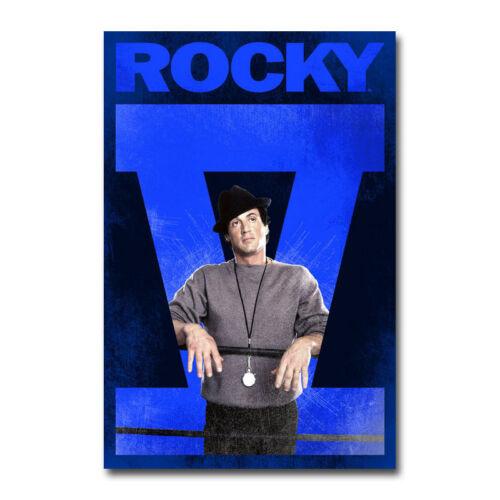 Rocky Hot Movie Art Canvas Poster Print