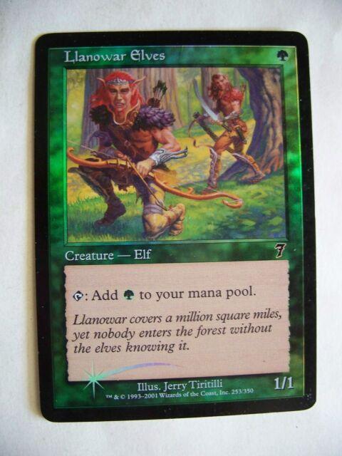 Llanowar Elves Collectors/' Edition NM-M CARD ABUGames