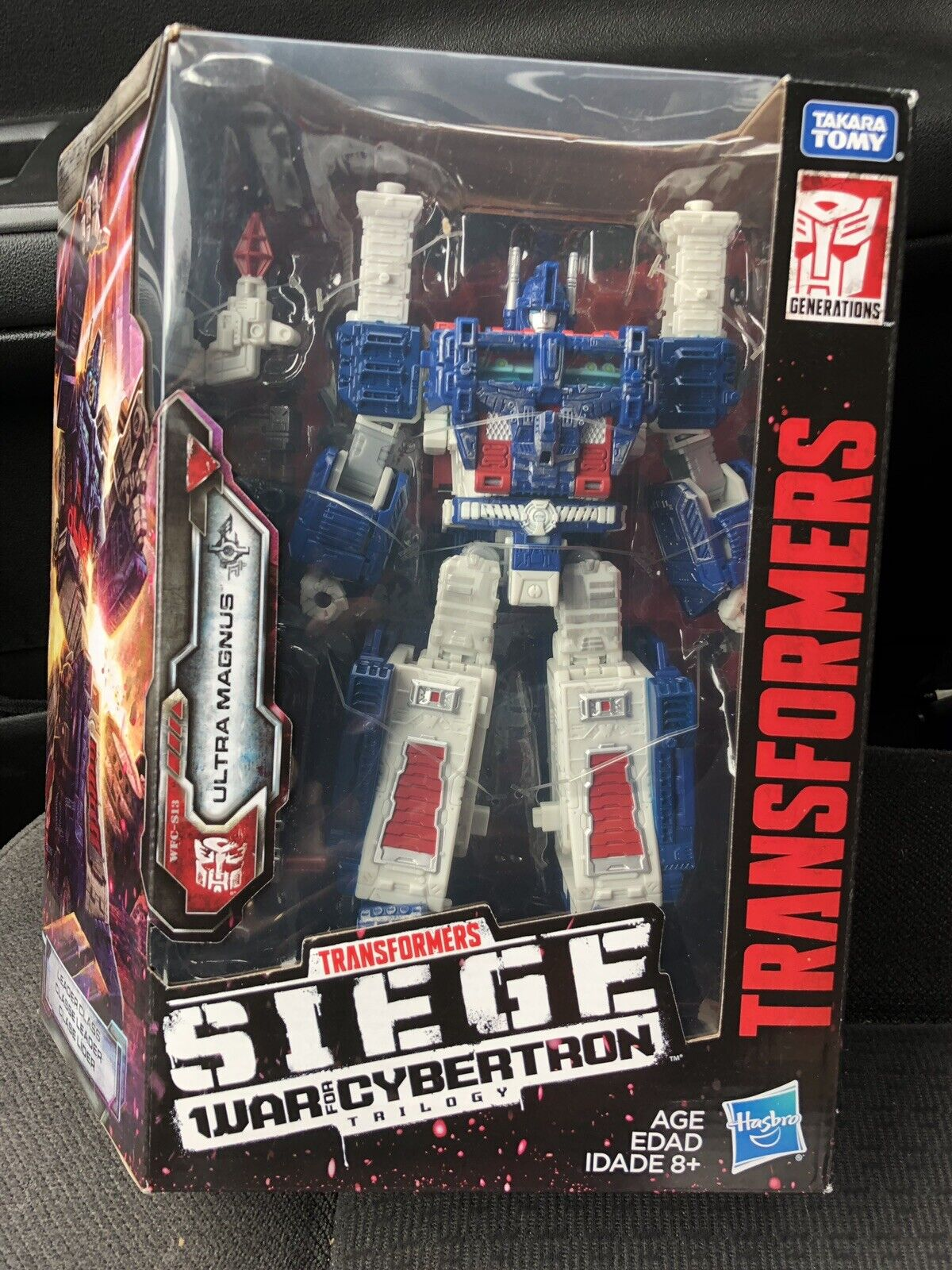 Transformers Generations War for Cybertron  Siege Leader Class WFC-S13 Ultra ...