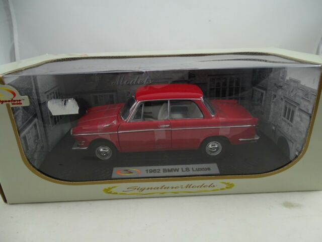 1:18 Signature Models #18125 - 1962 BMW Ls Luxury Red - Rarity §