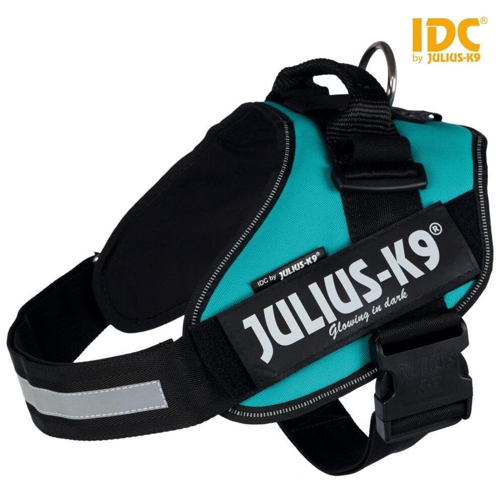 Dog Harness Julius-K9 IDC® Powerharness - Petrol   All Größes