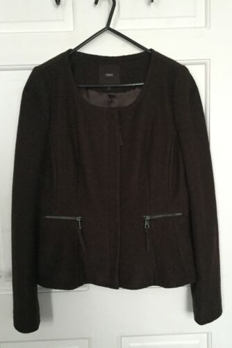 New Next 10 Smart Jacket £ Rrp Taille 55 Blazer wpgwrX