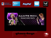 Saints Row Ultimate Franchise Pack Steam Pc Game Key Download Code Blitzversand