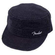 NEW Genuine Fender Military Cap, L/XL - BLACK, #919-0660-506