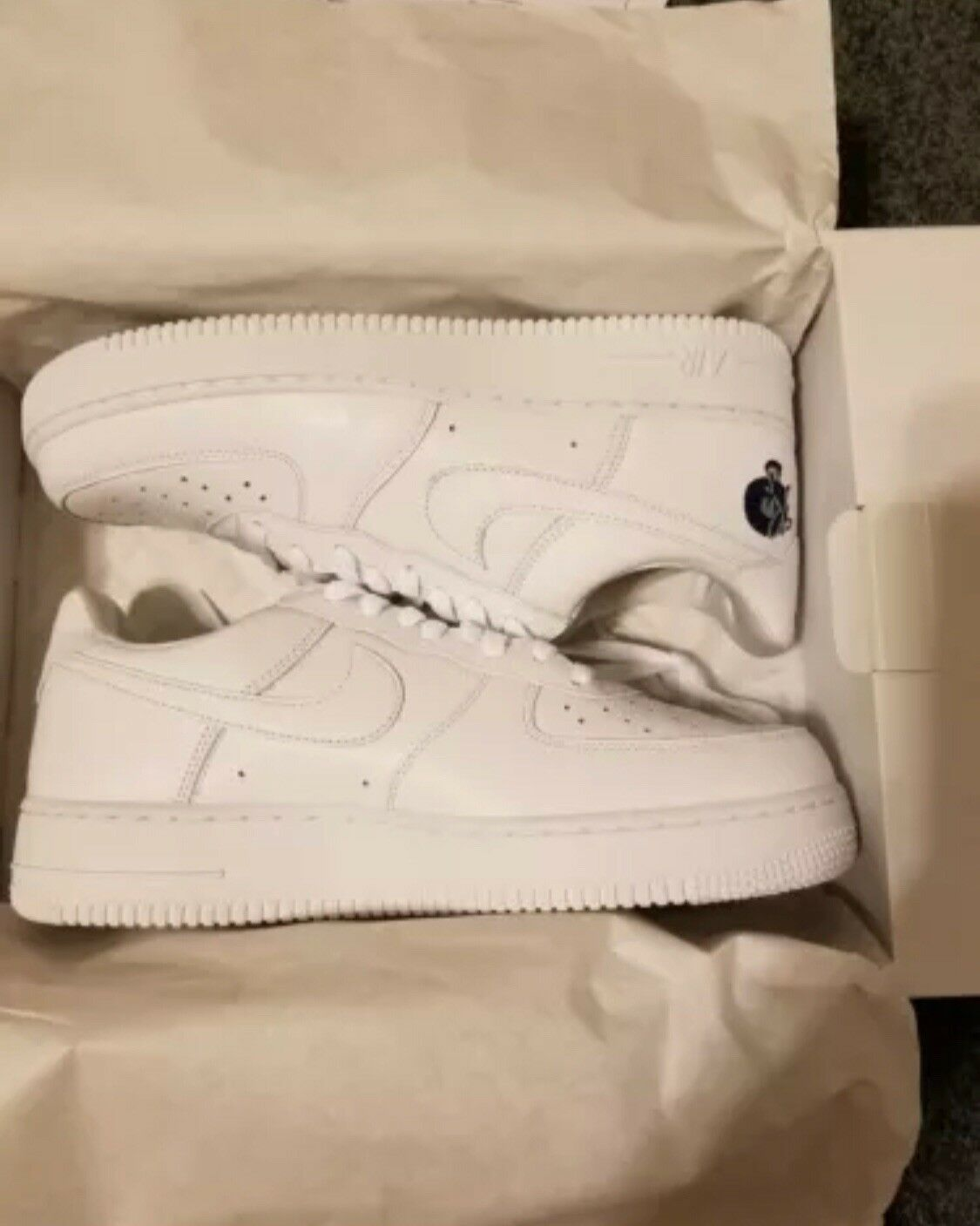 Nike Air Force 1 Low '07 ROCAFELLA White AO170 101 AF1 Uptown Roc-A-fella Price reduction Brand discount