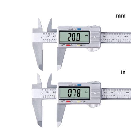 LCD 150MM//6inch Digital Electronic Vernier Caliper Gauge Micrometer Ruler Tool
