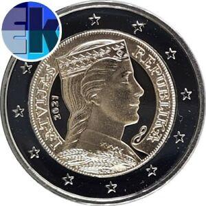 Ek // 2 euro Lettonie 2021 Pièce Neuve