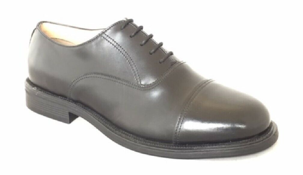 GRAFTERS XM620 Leather Capped Oxford Cadet shoes Cushion Insole