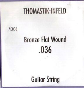 Thomastik-AC036-Bronze-Flat-Wound-Single-String-036-Gauge