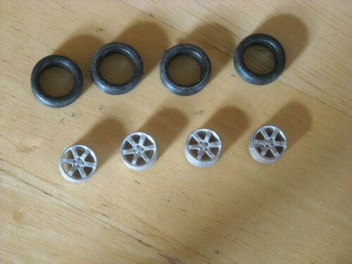 """6 spoke alloy wheels  pack of 4 suitable for cars with 16/"""" wheels"""