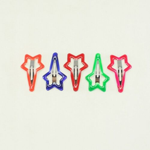 5 colors Assorted Snap Clips for babies girl hair accessories hair clips Toddler