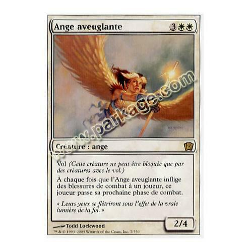 NM MTG Magic Ange aveuglante 9ème Edition n°7 Français