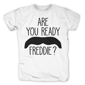 T-shirts Kleidung & Accessoires Are You Ready Freddie Mercury T-shirt Queen