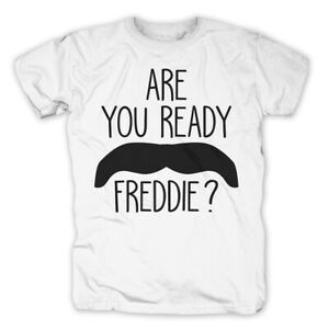Are You Ready Freddie Mercury T-shirt Queen Musik Herrenmode