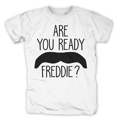 Are You Ready Freddie Mercury T-shirt Queen T-shirts