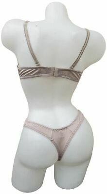 0655 Dessous BH Set REALITY Slip Cup C 60 70 75 Weiß