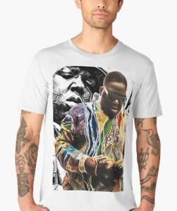 521b22b5 biggie smalls rap legends T Shirt hoodie cult print hip hop art ...