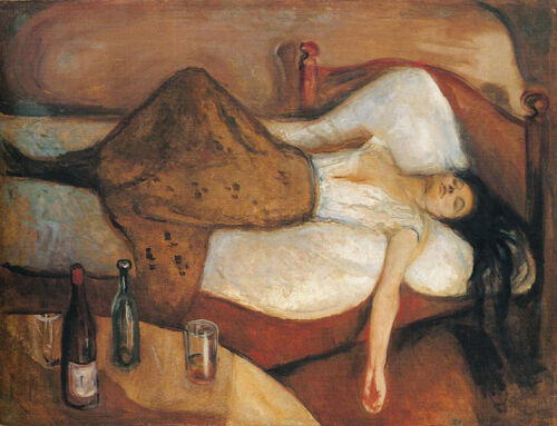 Edvard Munch The Day After Vintage Print