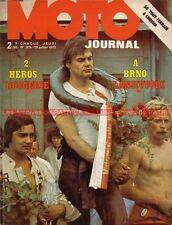 MOTO JOURNAL  129 YAMAHA 250 Cross ; Guide MOTO VERTE Off Road ; BRNO 1973 (2)
