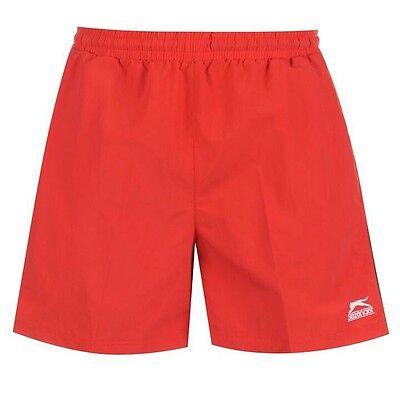 Slazenger Swim Shorts Size S M L XL 2XL 3XL 4XL NEW Swimming Woven Mens Black