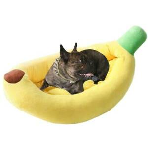 Soft-Pet-Blanket-Dog-Cat-Sofa-Mat-Kennel-Mattress-Cushion-Warm-Banana-Bed-House