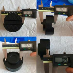 2-stuecke-Universal-Trolley-Jack-Disk-Pad-Adapter-Gummi-Prise-Weld-Side-JackPa