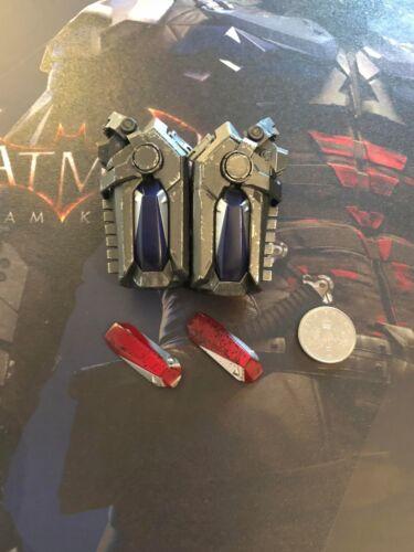 Hot Toys Batman Arkham Knight poignet Gantelets VGM28 loose échelle 1//6th