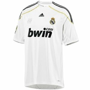 separation shoes 3155a 5cd80 Details about ADIDAS REAL MADRID HOME JERSEY 2009/10.