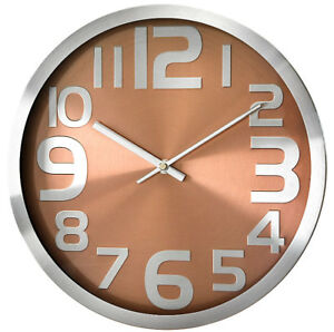 Modern-Wall-Clock-PERFECT-Metal-Case-High-Quality