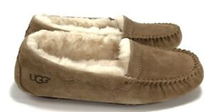 b46e16cbf05 Details about Ugg Scalloped Women's Moccasins Slippers / Shoes Chestnut  Size 6 NIB 1016476