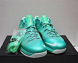 ed1d40716982 2012 Nike Air Max Lebron X 10 Low Size 11 - Easter Mint Green ...