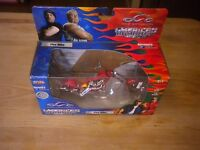 "Orange County Choppers American Chopper ""Fire Bike"" 1:18 Joyride 2004 Motorcycle"