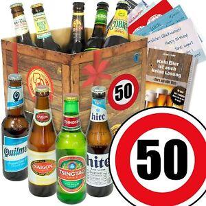 Details Zu Bierpaket Beste Biere Der Welt Zum 50 Geburtstag Lustiges Geschenk Für Männer
