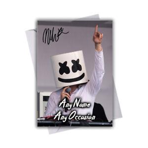 Marshmello-v1-Personalised-Greeting-Birthday-Valentines-Card