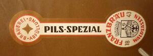 1950s-GERMAN-BEER-LABEL-BRAUEREI-AUGUST-FRANZ-WALDSASSEN-GERMANY-PILS-1