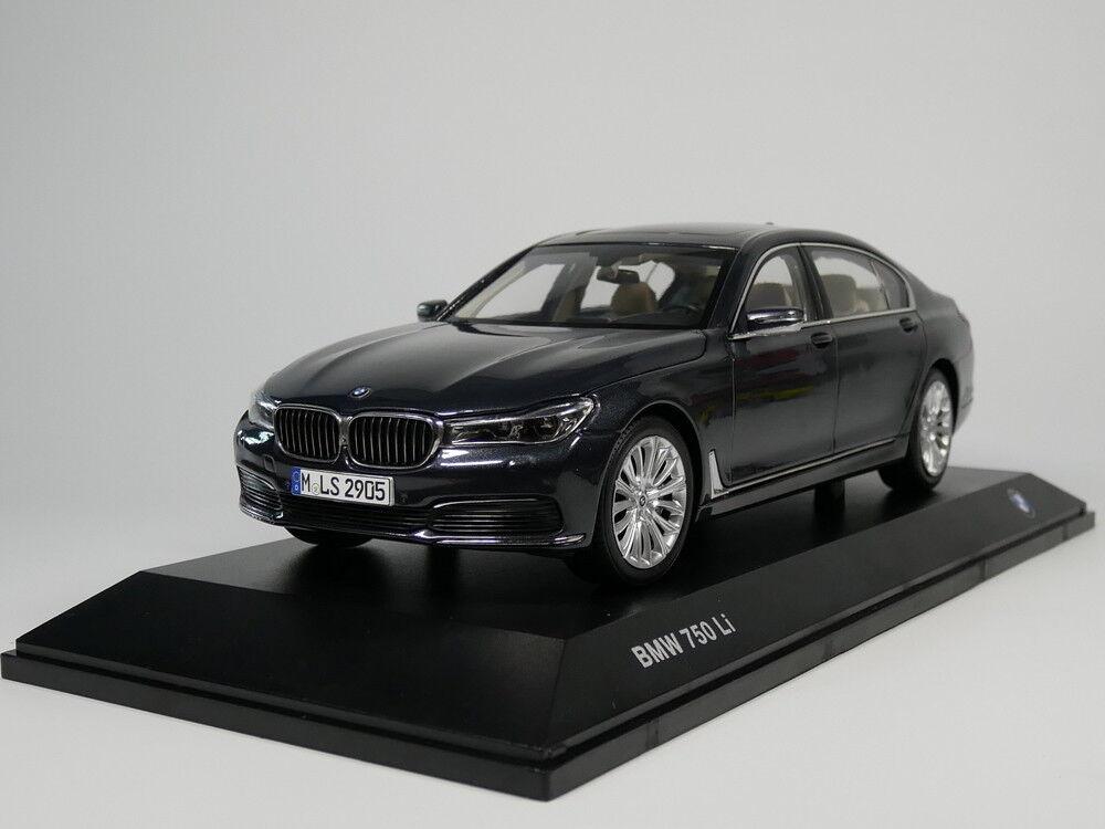 negozio di sconto 1 18 BMW 750 Li lungo Version Diecast Diecast Diecast modellolo auto (grigio)  Felice shopping