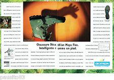 PUBLICITE ADVERTISING 125  1996  Décathlon chaussures de marche MAYA FLEX (2p)
