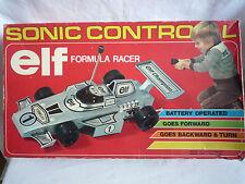 RARE Vintage Sonic controllata ELF FORMULA Racer Hong Kong ONE 1981/lavoro