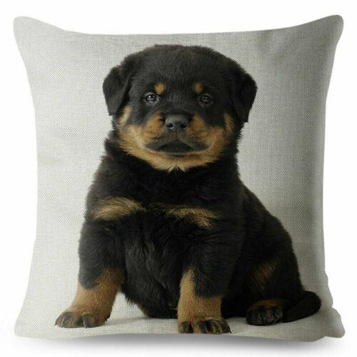 Germany Home Pillow Dog Sofa Covers Rottweiler Pet Loyalty Decor Car Cushion