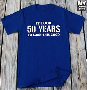 Image Is Loading 50th Birthday Shirt Gift For Party