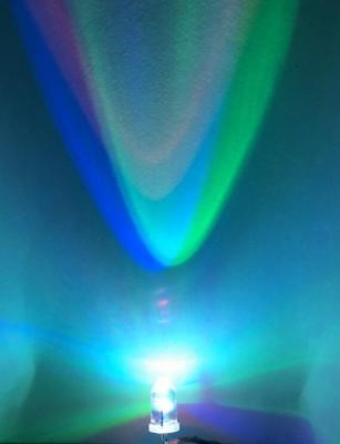 100pcs LED Diode 5mm RGB Blink Flash Light-Emitting-Diodes Rainbow 2Pin LED Lamp